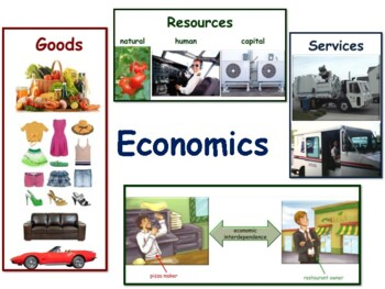 Economics Lesson - classroom unit, study guide, state exam prep, 2018 2019