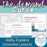 The Demand Curve Economics Lesson (Distance Learning!)