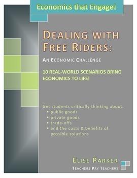 Economics Lessons that Engage: Free Rider Challenge Scenarios