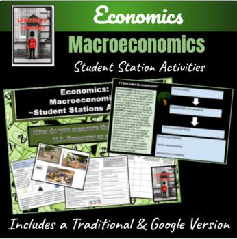 Economics: Macroeconomics-The Health of the Economy Statio