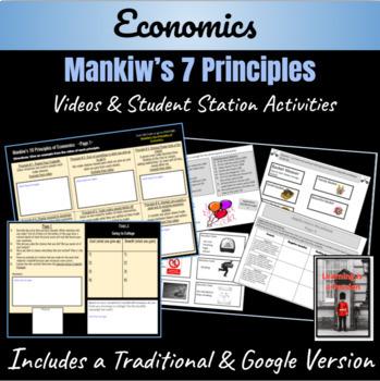 "Economics: Mankiw's 7 Economic Principles ""Student Stations Activity"""
