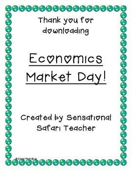 Economics Market Day