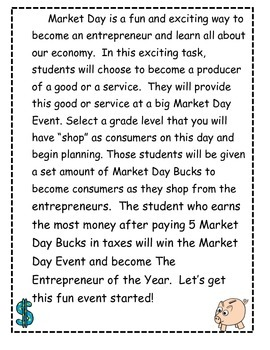 Economics Market Day Event