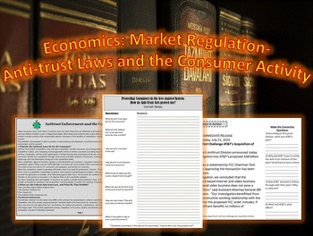 Economics: Market Regulation-Anti-trust Laws and the Consu