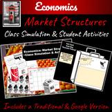 Economics: Market Structures Class Activity   Distance Learning