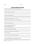 Economics Midterm Review Sheet