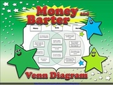 Economics: Money and Barter Venn Diagram - Compare Contrast - King Virtue