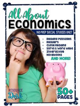 Economics NO PREP Integrated ELAR and Social Studies Unit