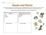 Economics: Needs and Wants