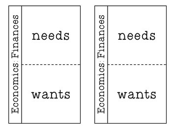 Economics: Needs and Wants
