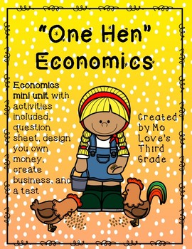 "Economics- ""One Hen"""