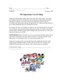 Economics Opportunity Cost Project