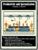 Economics, PRODUCTIVITY AND SPECIALIZATION