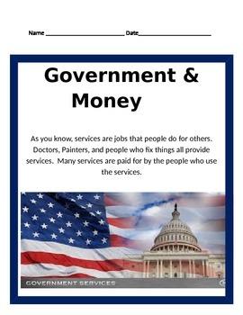 Economics Part 2:  Government & Money BUNDLE - 3rd Grade SS