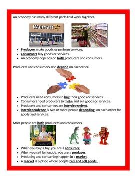 Economics Part 3: Trade BUNDLE - 3rd Grade SS