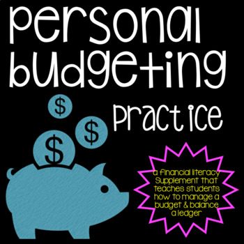 Economics: Personal Budget Practice