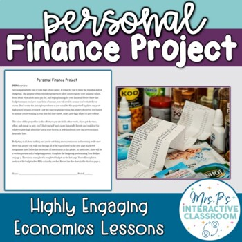 Economics Personal Finance Budgeting Project