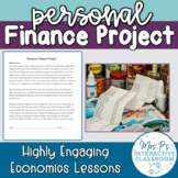 Economics Personal Finance Budgeting Project (Print & Distance Learning!)