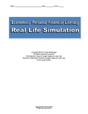 Economics- Personal Finance Project- Real Life Simulation