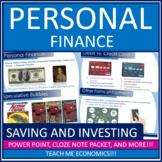 Economics - Personal Finance Saving, Investing, Insurance,