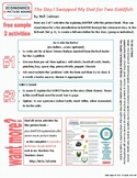 Economics & Picture Books - BARTER:  2 free activities
