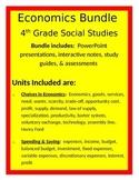 Economics Bundle- 4th Social Studies
