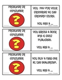 Economics - Producer or Consumer Cooperative Learning Cards