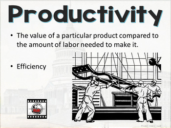 Economics Productivity, Free Enterprise, and the Role of the U.S. Government