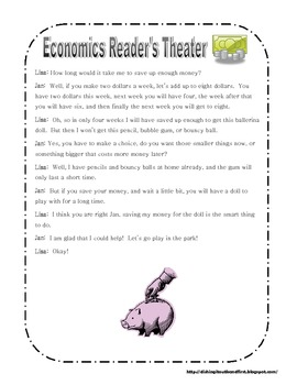 Economics Reader's Theater Pack K-2