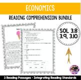 Economics Reading Comprehension Bundle! VA SOL 3.8, 3.9, 3.10