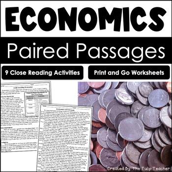 Economics Reading Comprehension Paired Passages