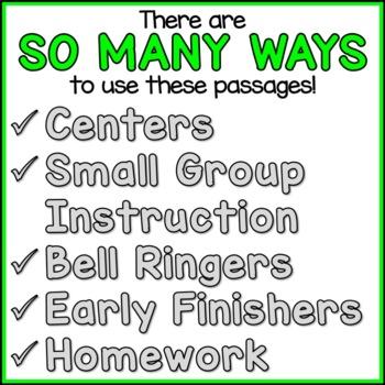 Economics Reading Comprehension Passages (K-2) - Social Studies