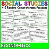 Economics Reading Comprehension Passages K-2
