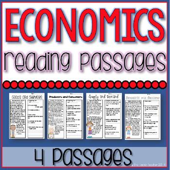 Economics Reading Passage Worksheets Teaching Resources TpT