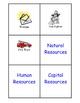 Economics-Resouces Relay Game