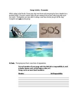Economics: Resource Island Group Activity