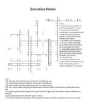 Economics Review Crossword