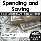 Spending and Saving for Google Classroom™ | Distance Learning