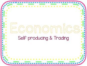 Economics - Self Producing & Trading Cards