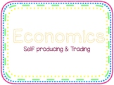 Economics - Self Producing & Trading Cards