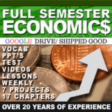 Economics Semester & Personal Finance GOOGLE DRIVE LINK