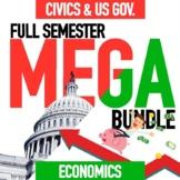 Economics Semester and Civics Semester Mega Bundle GOOGLE DRIVE