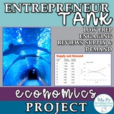 Economics Shark Tank Project for the Supply and Demand Unit