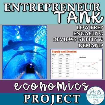 Economics Sharks Tank Project for the Supply and Demand Unit