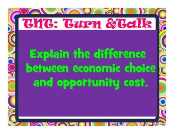 Economics Show What You Know