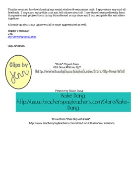 Economics  & Social Studies Ohio Grade 2:  Let's Work Together!