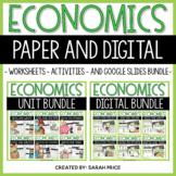 Economics Social Studies Worksheets, Activities, and Digit
