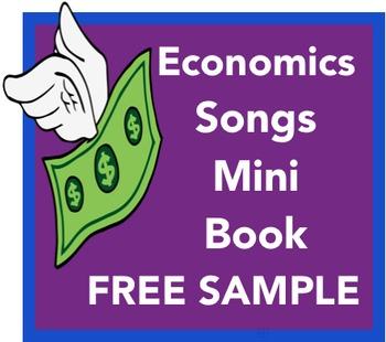 Economics Songs Mini Book Free Sample