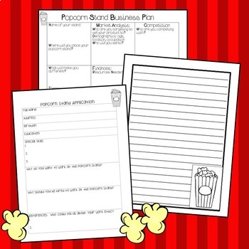 Project Based Learning: Starting a Class Popcorn Business