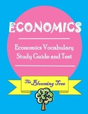 Economics Study Guide and Vocabulary Assessment